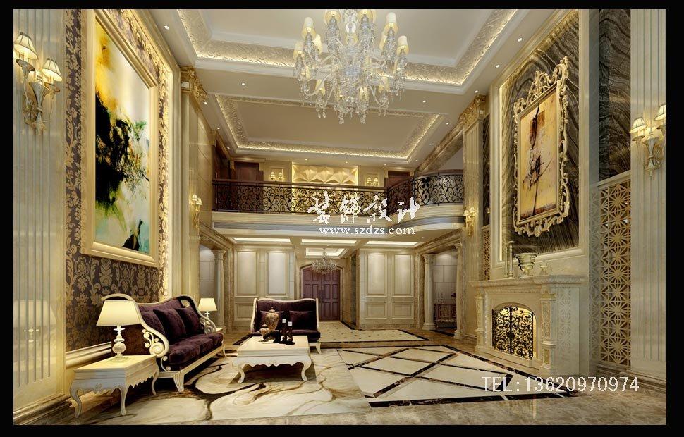振業城御墅9B別墅--歐式風格設計