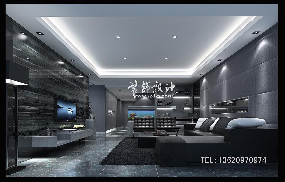 振業城6棟豪宅裝修--時尚簡約設計