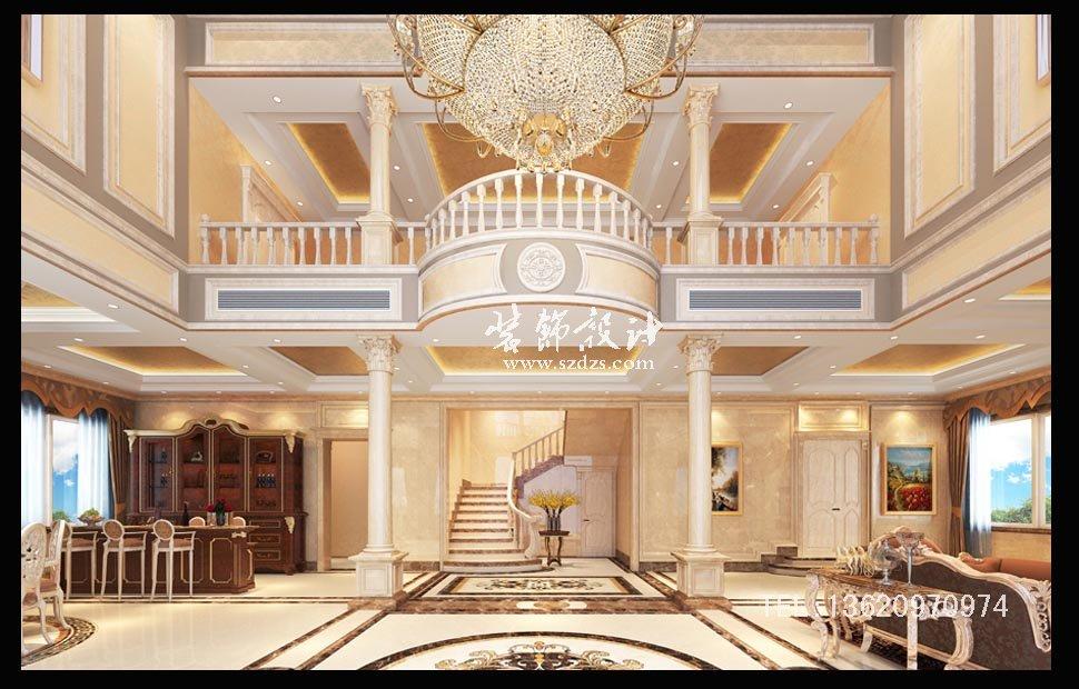 福建自建別墅裝修--歐式風格設計