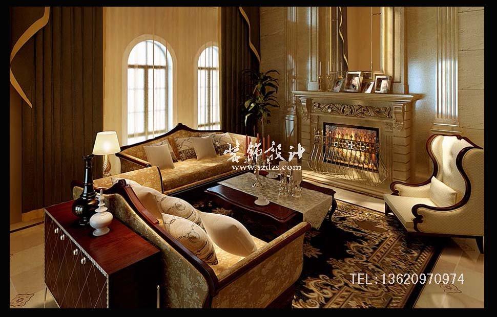 南山香山美墅装修--欧式风格设计