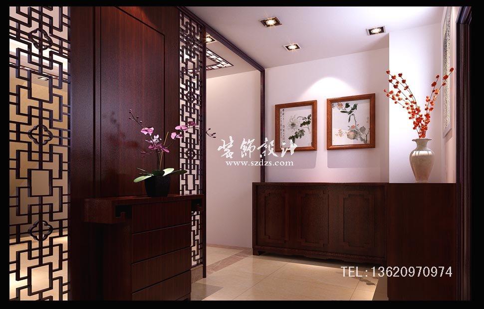 惠州半岛1号别墅装修--新中式设计