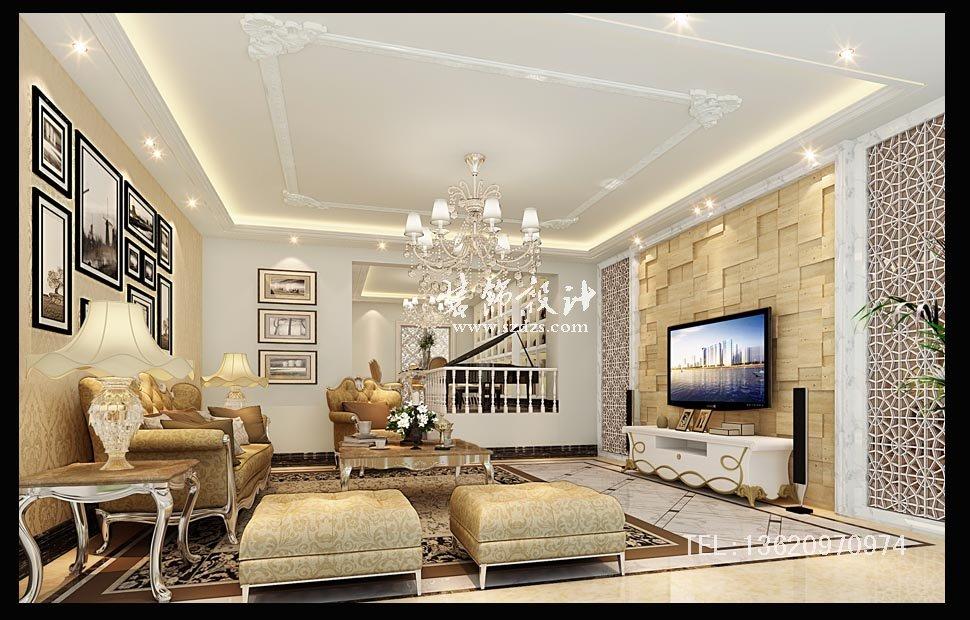 惠州半岛壹号别墅装修--欧式风格设计