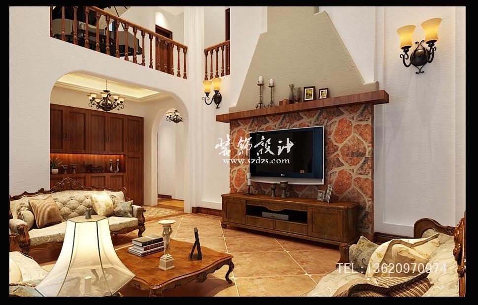 东海岸别墅装修--美式风格设计