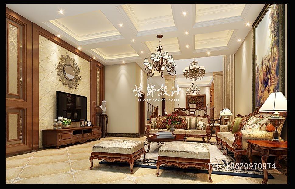 深圳爱琴湾山庄装修--美式风格设计